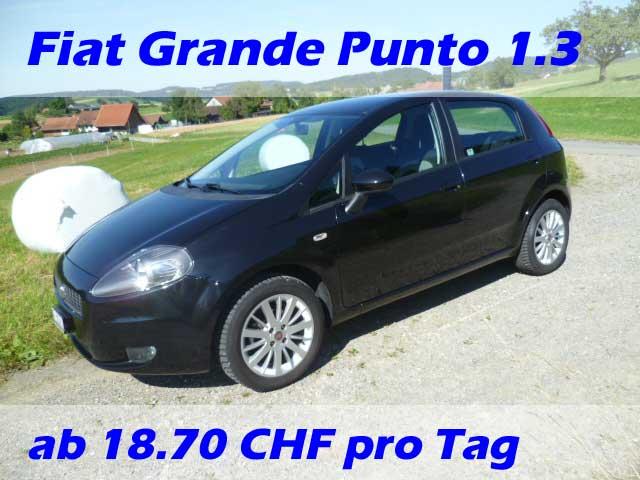 Fiat-Grande-Punto-Schwarz