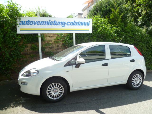 Fiat Punto Benzin Weiss